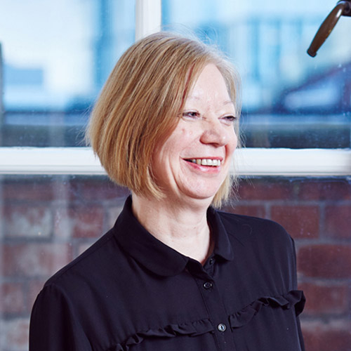 Portrait of Sharon Brayshaw